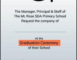 Číslo 5 pro uživatele Graduation Invitation od uživatele RohanGhauri