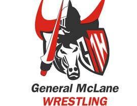 #39 untuk General McLane wrestling logo oleh letindorko2