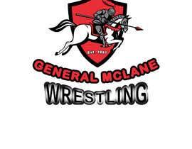 #38 untuk General McLane wrestling logo oleh AlexeCioranu