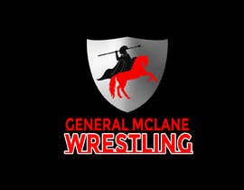 #24 for General McLane wrestling logo by Roybipul
