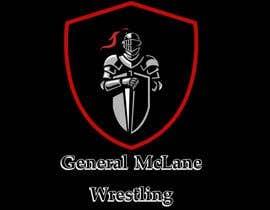 #9 for General McLane wrestling logo by AfrinaHadidi