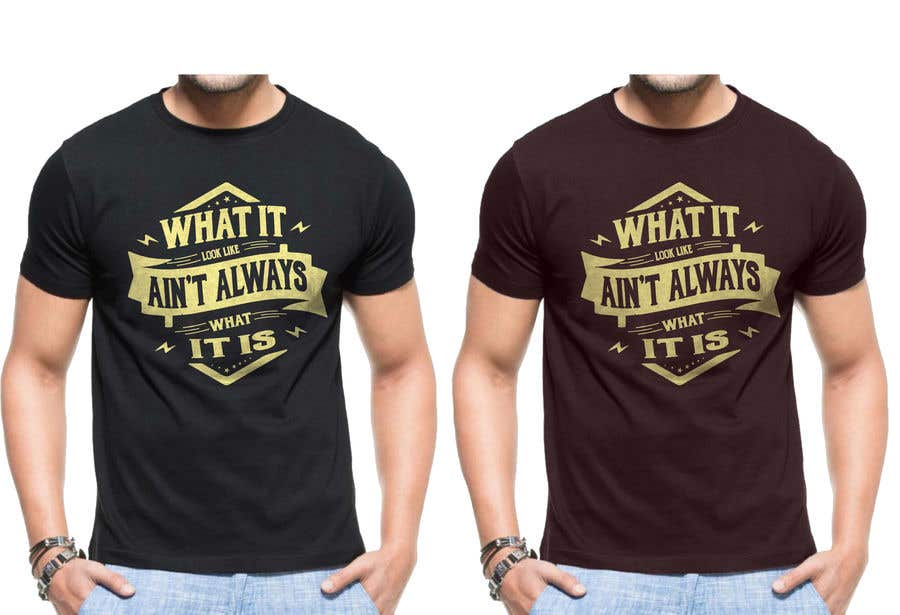 Конкурсная заявка №53 для T shirt design suitable for 18-35 aged people