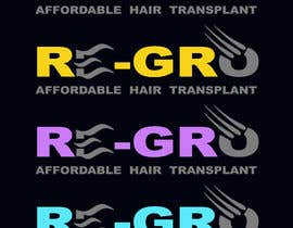 #52 for Re-Gro  Hair Transplant LOGO by Wooddoost