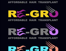 #53 for Re-Gro  Hair Transplant LOGO by Wooddoost