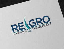 #23 for Re-Gro  Hair Transplant LOGO by taslimab526