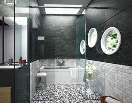 #19 para Design a bathroom Layout/ rendering de MedKhebir
