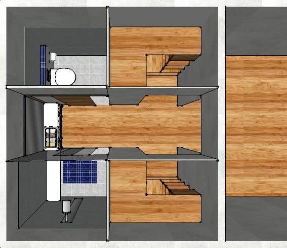 Contest Entry #6 for Design a bathroom Layout/ rendering