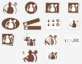 #38 for Design Simple Sticker Image like stickermule by Shuvomonisha