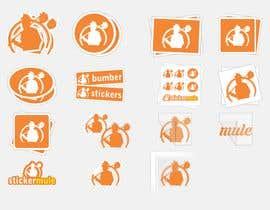 #29 for Design Simple Sticker Image like stickermule by naimnilger
