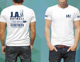 #4 untuk T shirt for a DRY WALL COMPANY oleh jrdesignoficial