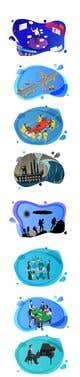 Konkurrenceindlæg #46 billede for Illustrate 8 pictures for a digital presentation