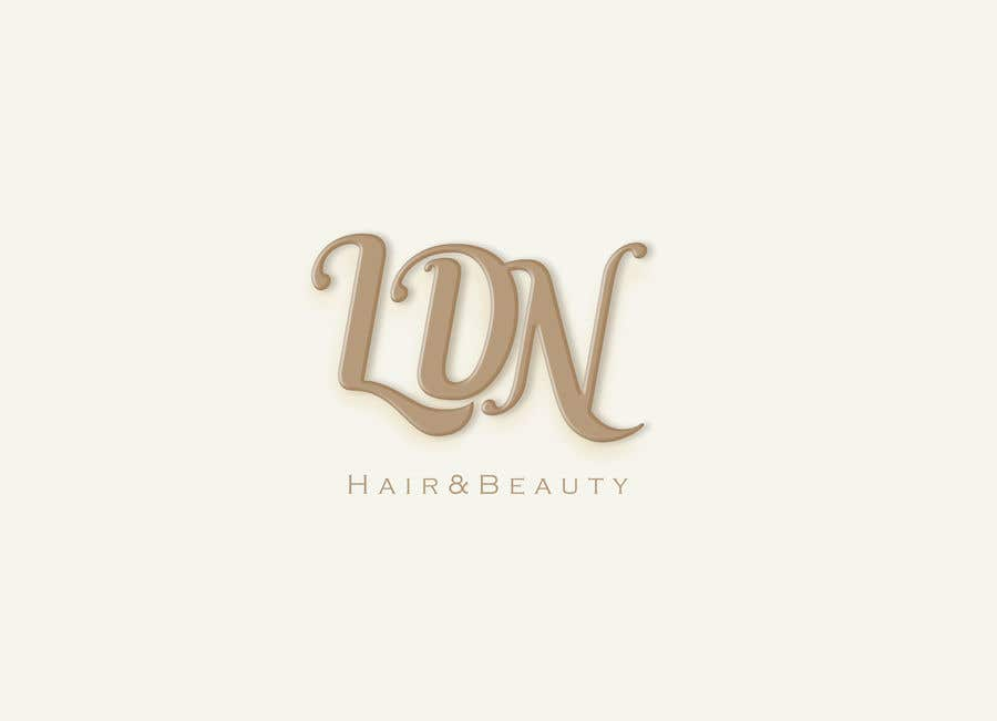 Konkurrenceindlæg #44 for LDN Hair & Beauty Logo Design