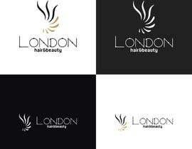 Nro 158 kilpailuun LDN Hair & Beauty Logo Design käyttäjältä charisagse