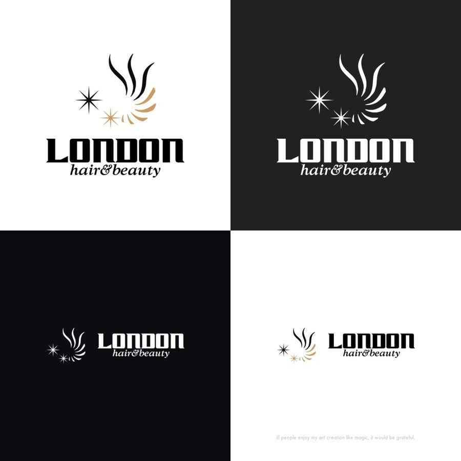 Konkurrenceindlæg #164 for LDN Hair & Beauty Logo Design