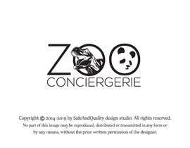 "#49 cho logo for a project. It is a Pet/Zoo Store called ""Zoo Conciergerie"" bởi SafeAndQuality"