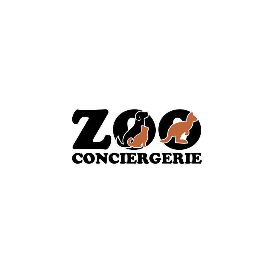 "Konkurrenceindlæg #51 for logo for a project. It is a Pet/Zoo Store called ""Zoo Conciergerie"""