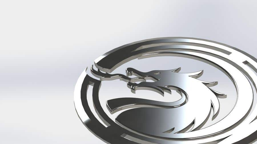 Kilpailutyö #4 kilpailussa Stainless Steel Jewelry Designs - Dragon Oil Diffuser Locket