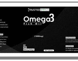 Nro 10 kilpailuun Design label for vitamins bottle käyttäjältä QasimAs