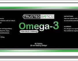 Nro 6 kilpailuun Design label for vitamins bottle käyttäjältä KOPASJATdedy