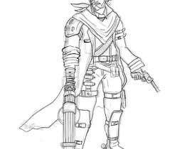 #13 for Steampunk cowboy art work graphical artwork af abdillahfnoor