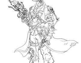 #15 for Steampunk cowboy art work graphical artwork af tariqtoufiq