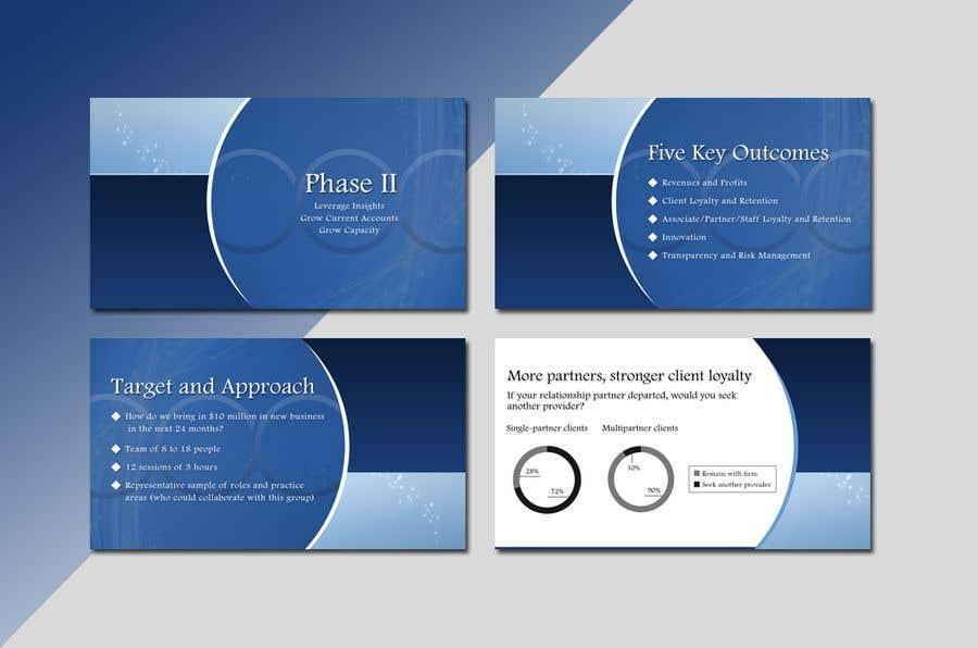 Inscrição nº 19 do Concurso para Create Keynote Template based on Freelancer.com styling