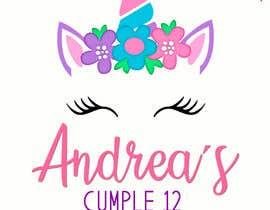 Nro 23 kilpailuun ANDREA´S #12 BIRTHDAY käyttäjältä marianayepez