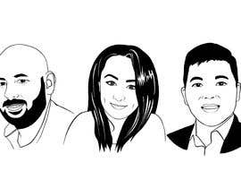 #20 para Sketches of head shots for website por LizaShtefan