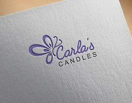 "Nahin29 tarafından Design a logo for ""Carla's Candles""' için no 108"