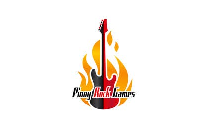 #40 for Logo Design for Pinoy Rock Games by Rajmonty