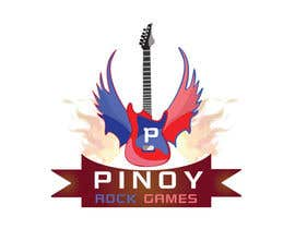 #29 для Logo Design for Pinoy Rock Games от pradeepchauhan92