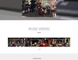 Aanaaya tarafından Update young female jazz band website (pinktrio.com) to look more professional için no 9