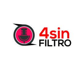 "#37 для A logo for Radio Show/Program ""4 sin filtro"" от alamin216443"