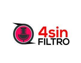 "#37 cho A logo for Radio Show/Program ""4 sin filtro"" bởi alamin216443"