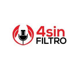 "alamin216443 tarafından A logo for Radio Show/Program ""4 sin filtro"" için no 40"