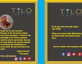#38 untuk Tilo Jewelry 4x6 flyer oleh habibkhl
