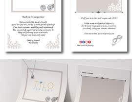 #6 untuk Tilo Jewelry 4x6 flyer oleh Maraya4511