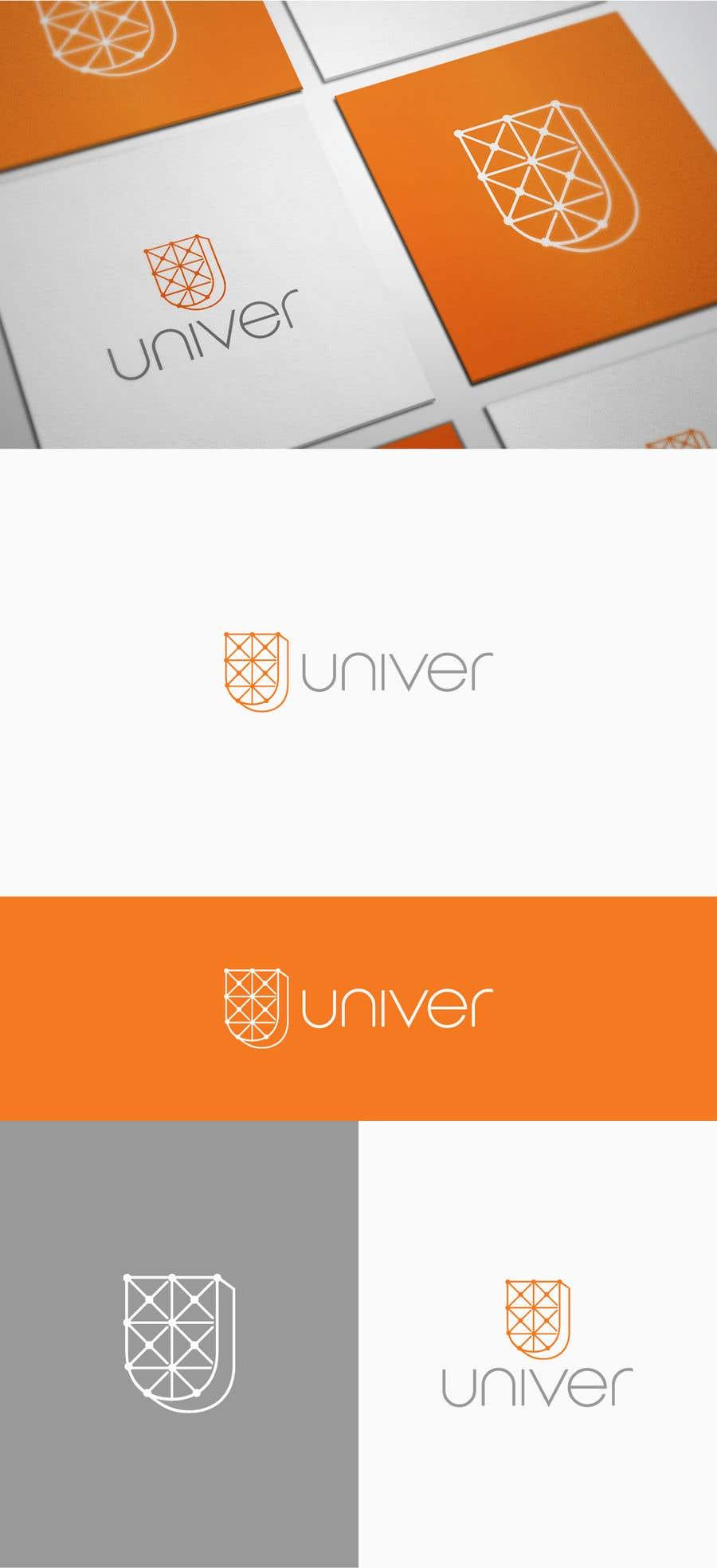 Bài tham dự cuộc thi #209 cho Univer logo