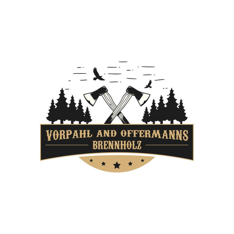 Penyertaan Peraduan #8 untuk Firewood company searching for logo design
