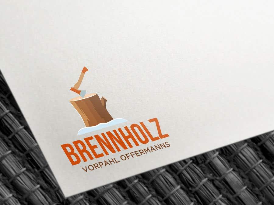 Penyertaan Peraduan #172 untuk Firewood company searching for logo design