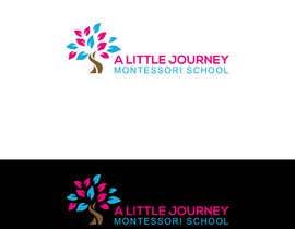 """#45 untuk """"A Little Journey Montessori School"""" Logo oleh Sritykh678"""