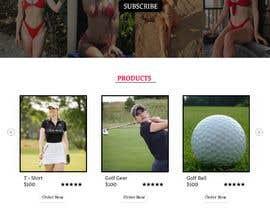 Nro 60 kilpailuun Design Home Screen for Mobile Responsive Website for an Instagram model käyttäjältä soykothosen16030