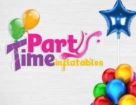 geandreina9 tarafından Party Time Inflatables Logo Design için no 13