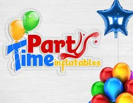 geandreina9 tarafından Party Time Inflatables Logo Design için no 14
