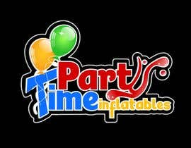 geandreina9 tarafından Party Time Inflatables Logo Design için no 15