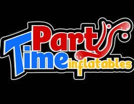 geandreina9 tarafından Party Time Inflatables Logo Design için no 16