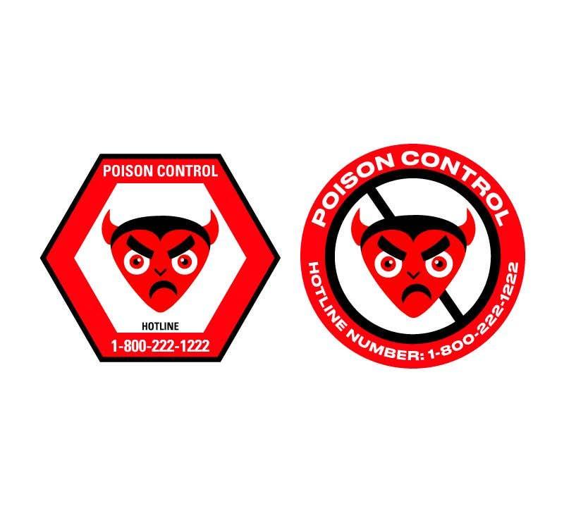 Kilpailutyö #61 kilpailussa Product Safety Stickers