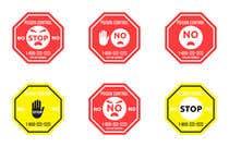 Graphic Design Kilpailutyö #18 kilpailuun Product Safety Stickers