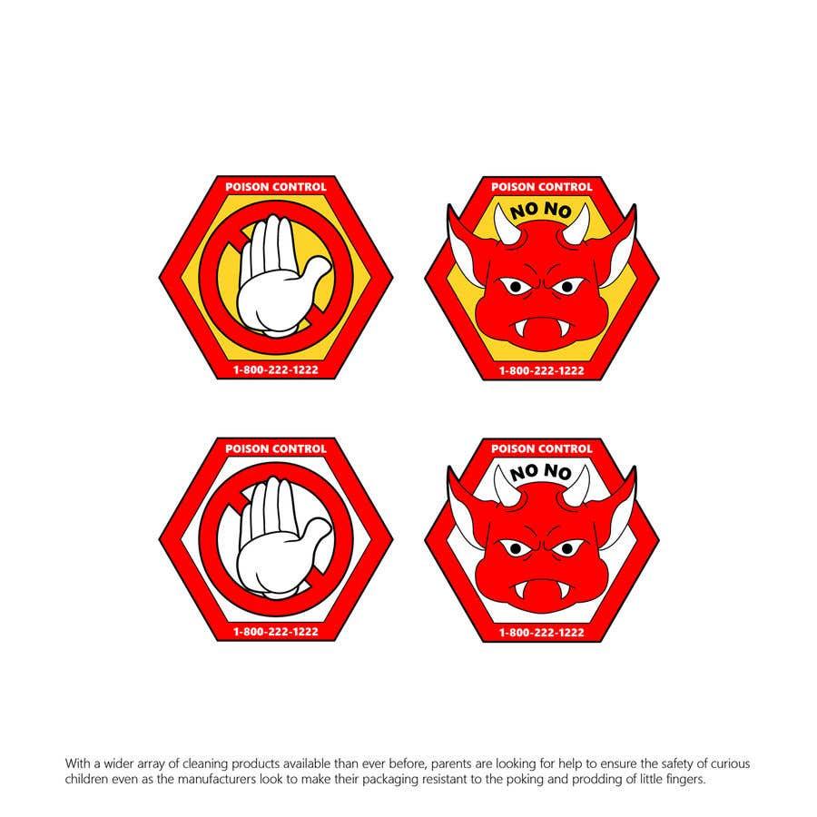 Kilpailutyö #52 kilpailussa Product Safety Stickers