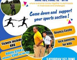Nro 19 kilpailuun Make a Sports Day Poster - A4 Size käyttäjältä maidang34